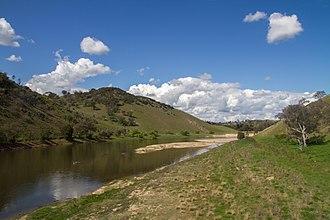 Cavan, New South Wales - Wee Jasper Road road in Cavan