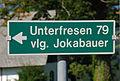 Wegschild Jokabauer Unterfresen.jpg