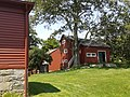 Weir Farm National Historic Site - Weir Studio, Young Studio behind, from corner of Weir Farmhouse.jpg