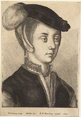 Wenceslas Hollar - Young woman with a cap and feather (State 1).jpg