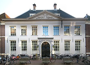 New Netherland - The West India House in Amsterdam, headquarters of the Dutch West India Company from 1623 to 1647