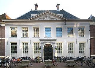 Het West-Indisch Huis in Amsterdam, hoofdkwartier van de WIC van 1623 tot 1647