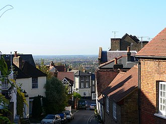 Harrow on the Hill - Image: West St, Harrow on the Hill geograph.org.uk 378157