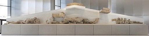 West pediment-hekatompedon
