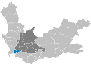 Western Cape Municipalities showing Stellenbosch.png