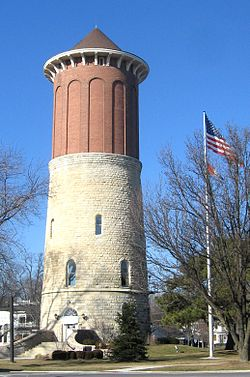 Historic water tower