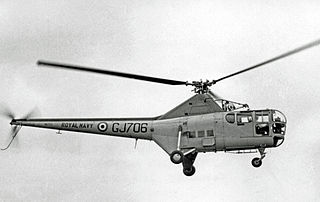 Westland WS-51 Dragonfly Helicopter built by Westland Aircraft