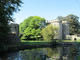 Whittington Castle - Image: Whittington Castle October 2014