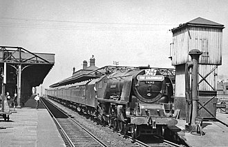 Wigan North Western railway station - The station in 1957