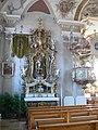 Wiggensbach St Pankratius Querschiff Nord Altar.jpg