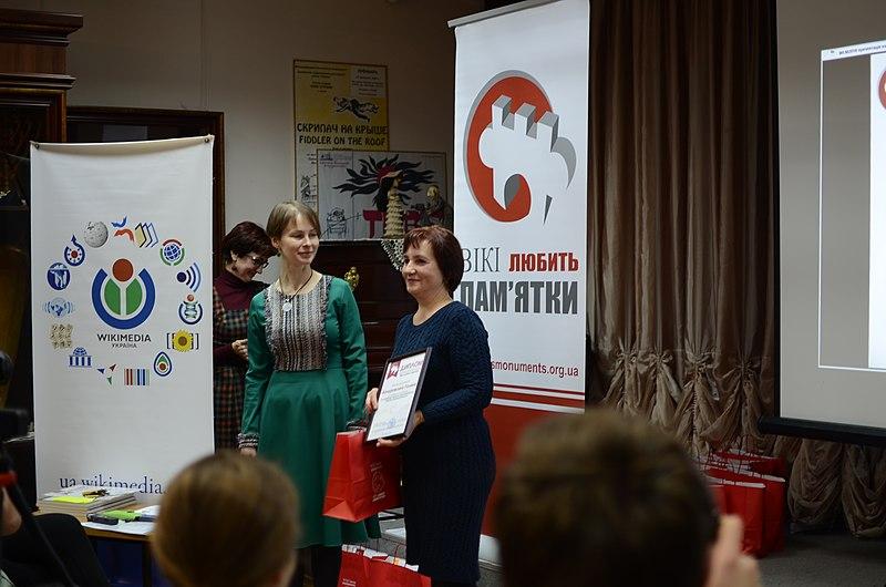 Галина Качуровська, переможець у номінації «За найбільшу кількість сфотографованих пам'яток Одеської області»