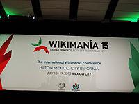 Wikimanía 2015 - Day 3 - Opening Ceremony - LMM - México D.jpg