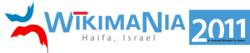 Wikimania 2011 Logo