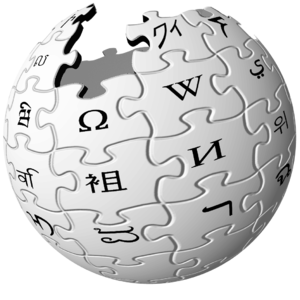 Klingon alphabets - Wikipedia's logo used from 2003 until 2010