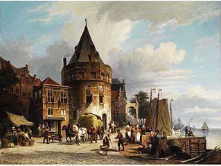 la Schreierstoren à Amsterdam
