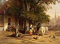 Willem Roelofs - Dorpsherberg aan dorpsstraat.jpg