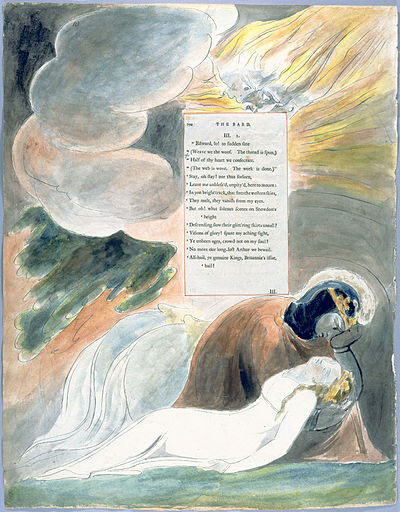 William Blake - The Poems of Thomas Gray, Design 62 The Bard 10.jpg