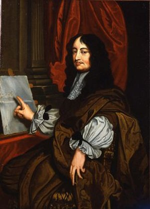 William Brouncker, 2nd Viscount Brouncker - Portrait  of Brouncker (circa 1674) possibly after Sir Peter Lely