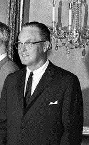 William Edwin Minshall Jr. - Image: William E. Minshall September 14, 1961 crop