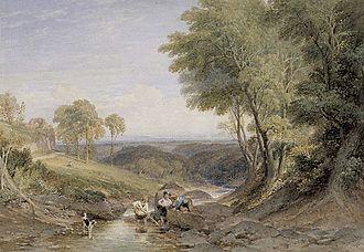 William Leighton Leitch - Landscape (1867)