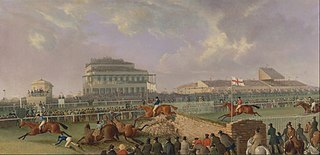The Liverpool and National Steeplechase at Aintree, 1843