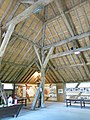 Windmill of Dosches (Aube, France) carpentry of the tithe barn.jpg