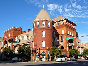 Windsor Hotel, part of the Americus Historic District in Sumter County Windsor-Hotel-Americus-GA-1.jpg