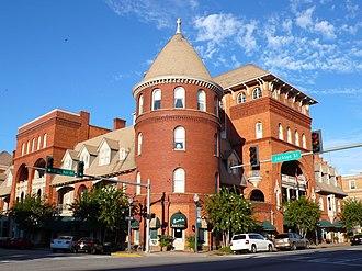 Americus, Georgia - Windsor Hotel façade