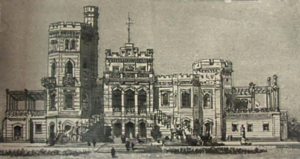 Windsor Palace (Thailand) - Illustration of Windsor Palace from the 19 September 1891 issue of The Graphic