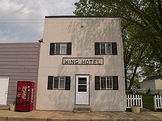 Wing, North Dakota - Wing Hotel
