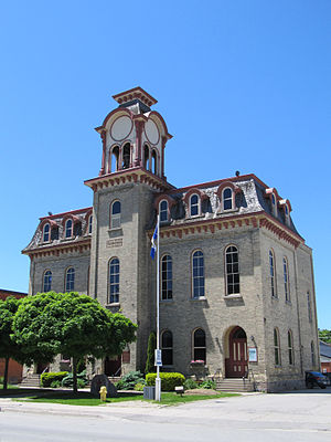 Wingham, Ontario - Town hall