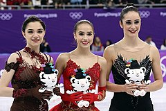 Winter Olympic Games 2018 - Ladies (Podium).jpg