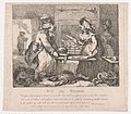 Wit and Wisdom Making Preparations for Dinner (Picturesque Beauties of Boswell, Part the First) MET DP871883.jpg