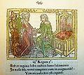 Woodcut illustration of Nicaula, Queen of Sheba, and Solomon, King of Israel - Penn Provenance Project.jpg