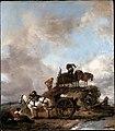Wouwerman, Philips - Peasants in the Fields- Hay Harvest - Google Art Project.jpg