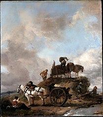 Peasants in the Fields: Hay Harvest