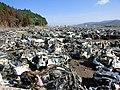 Wrecks and ruins after the 2011 Tōhoku earthquake 20110617 36.jpg
