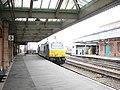 Wrexham and Shropshire Railway train departing from Shrewsbury - geograph.org.uk - 786259.jpg