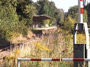 Wriezen Railway - Line near Ahrensfelde Friedhof