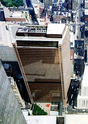7 World Trade Center - The original 7 World Trade Center from the WTC observation deck