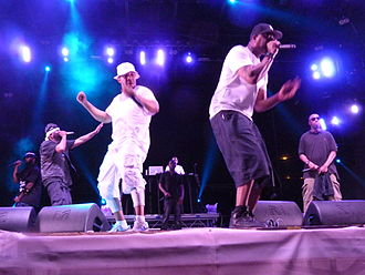 Wu-Tang Clan - Wu-Tang Clan performing at Budapest – 2015.07.07