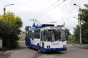 Vuhlehirsk - Vuhlehirsk trolleybus
