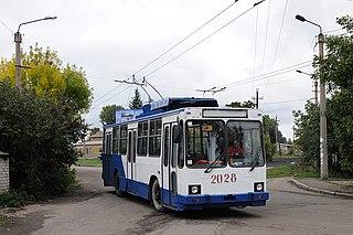 Vuhlehirsk City in Donetsk Oblast, Ukraine