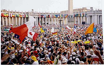 World Youth Day is a popular Catholic faith th...
