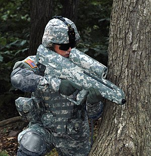 The Army's futuristic-looking 2.5 pound XM25 I...