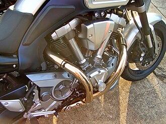 Yamaha MT-01 - Image: Yamaha MT 01 engine