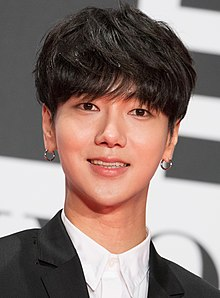 "Yesung from ""My Korean Teacher"" at Opening Ceremony of the Tokyo International Film Festival 2016 (32801121644).jpg"