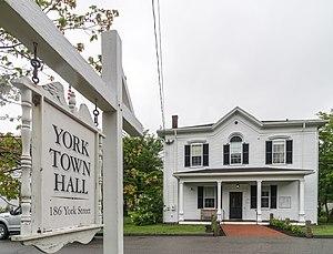 York, Maine - York Town Hall