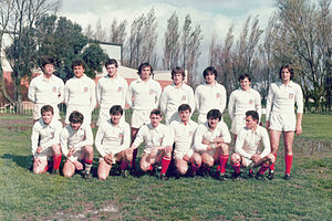 Rugby union in Yugoslavia - The Yugoslavia U-19 team in 1979