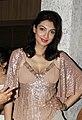 Yukta at an event in Mangiamo restaurant, Mumbai.jpg
